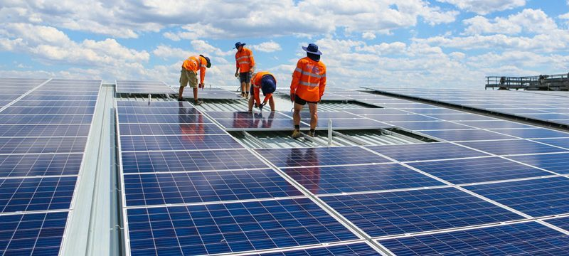 Relief For Commercial Solar Sector, As