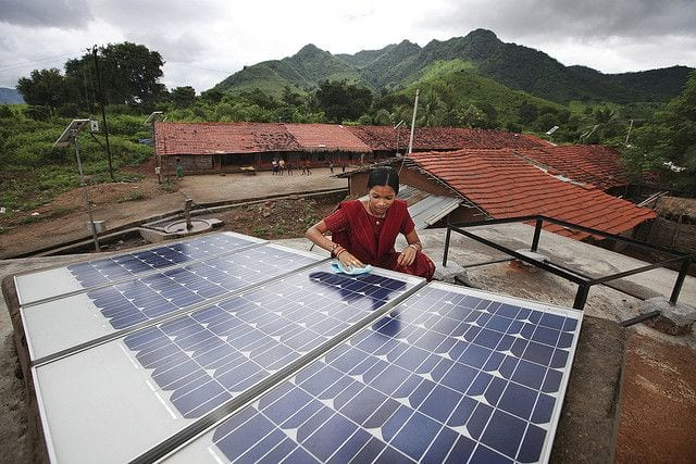 India Achieves Record Low Price For Large Scale Solar Plant