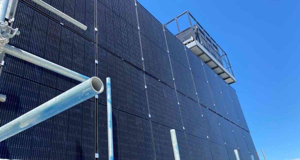Going Up? Vertical Solar Array To Help Power 48-storey Melbourne Building