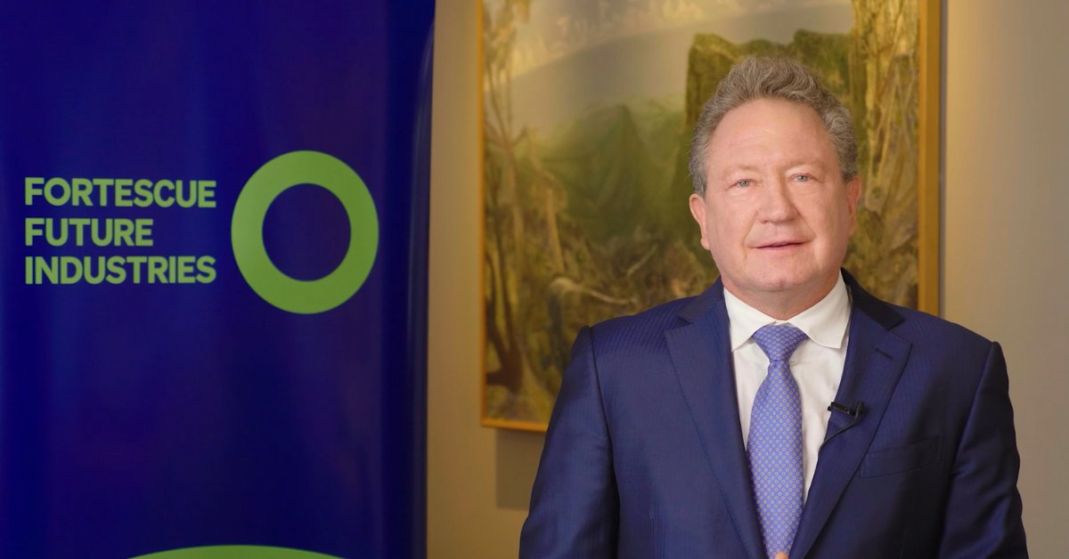 Twiggy Forrest's Green Hydrogen Ambitions Will Require Renewables At 3x Australia's Total Energy Consumption – Pv Magazine Australia