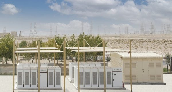 Tesla Battery Switched On At World's Biggest Solar Farm In Middle East